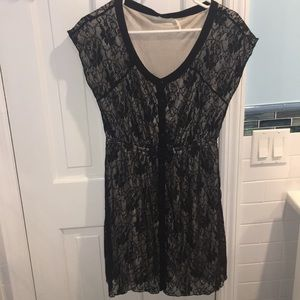 Urban Outfitters Black Lace Dress